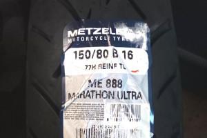 METZELER 150/80B16 M/C REINF TL 77H ME 888 MARATHON ULTRA R за 12 200 р.