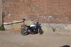 Серебряный металлик Honda CB 400 SF Hyper Vtec 2006