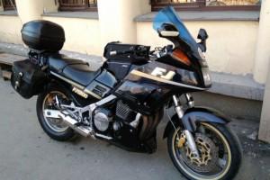 Черный Yamaha FJ 1200 A 1988