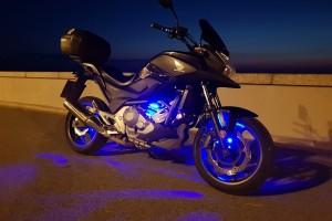 Черный Honda NC 700 XA 2013