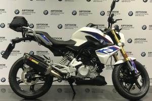 Белый BMW G 310 R 2017