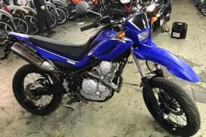 Синий Yamaha XT 250 X 2005
