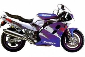 Suzuki GSX-R 1000 1998 за
