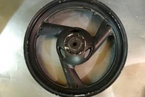 Yamaha fz 400 Fazer заднее колесо за 1 000 р.