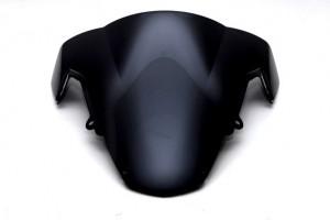 Ветровое тонированное стекло для Suzuki GSX-R1000 (03-04), черное за 1 800 р.
