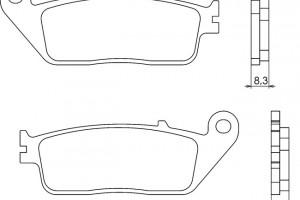 Синтетические тормозные колодки Brenta FT4059 за 2 000 р.