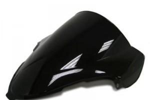 Ветровое тонированное стекло для Suzuki GSX-R1300 (08-14), черное за 1 800 р.