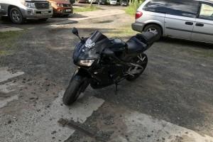 Черный металлик Honda CBR 600 RR 2006