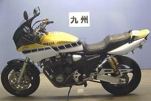 Желтый Yamaha XJR 1200 1996