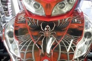 Красный металлик BRP Spyder RT 2011