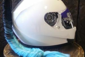 Хвост на шлем Proxvost Крофт чёрно-голубой за 1 699 р.