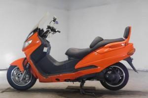 Оранжевый Suzuki AN 400 1999