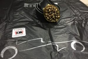 Латунная пряжка с черепами+ремень в комплекте за 5 000 р.