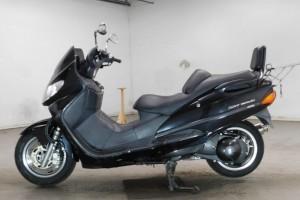 Черный Suzuki AN 400 1997