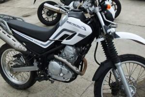 Белый Yamaha Serow 250 2005