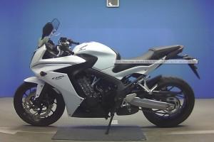 Белый металлик Honda CBR 650 FA 2014