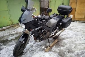 Черный Yamaha TDM 850 1992