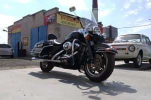 Черный металлик Harley-Davidson FLHRI Road King 2008