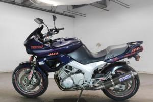 Синий Yamaha TDM 850 1994