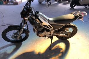 Серый Yamaha XG 250 Tricker 2007