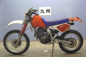 Красный Honda XR 250 R 1988
