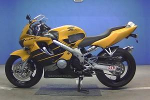 Черный Honda CBR 600 F 1999