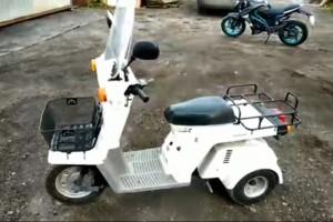 Белый Honda Gyro X 1994