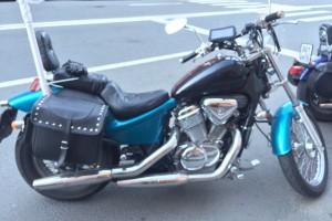 Синий металлик Honda Steed 400 1996