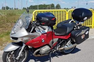 Красный металлик BMW R 1200 ST 2005