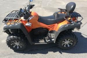 Оранжевый металлик CFMoto X8 2014