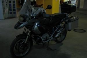 Коричневый BMW R 1200 GS 2011