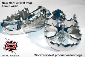 Подножки Mark 3 поворотные Pivot Pegz, BMW R1200GS/A LC, R1250GS/A за 9 540 р.