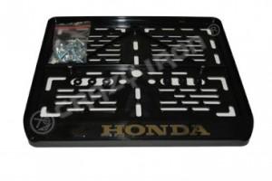 """Рамка для крепления номера к мотоциклу """"HONDA"""""""