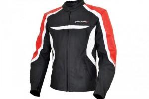 Куртка мотоциклетная (кожа) Street Fighter Черно-Красный за 9 700 р.