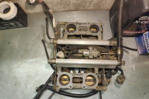 Дроссельная заслонка Honda VFR800 98-01 16400-MBG-L01 за 7 000 р.