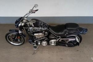 Серый Yamaha XV 1700 Warrior 2007