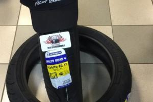 Michelin Pilot Road 4 + кепка в подарок! за 20 400 р.