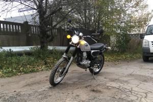 Серебряный металлик Yamaha Bronco 225 1997