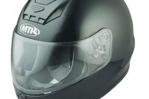 Шлем MTR S-7 черный металлик за 4 730 р.