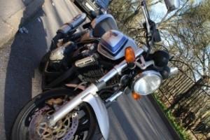 Серый металлик Honda CB 400 SF Hyper Vtec 2002