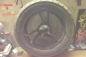 Suzuki gsx600f katana 1989 колесо заднее за 3 000 р.