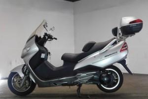Серый Suzuki AN 400 2001