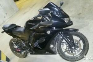 Черный Kawasaki Ninja 250 R 2012