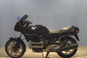 Черный BMW K 100 RS 1990