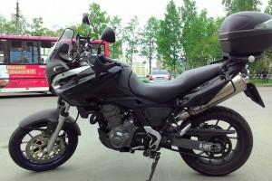 Черный Aprilia Pegaso 650 Strada 2006