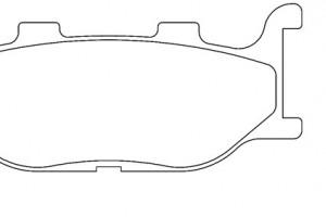 Органические тормозные колодки Brenta FT3019 за 1 100 р.