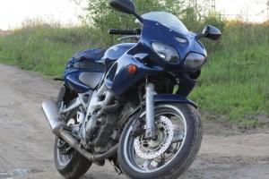 Синий металлик Suzuki SV 650 S 2000