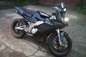 Черный Derbi GPR 125 2005