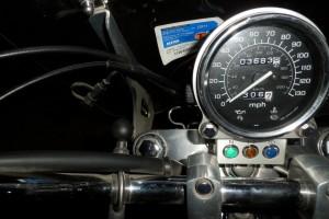Черный Honda VT 1100 C Shadow Spirit 2007