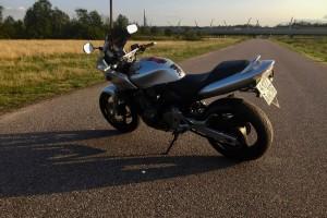 Серый Honda CB 600 Hornet F 2001